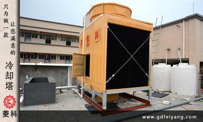 深圳汇德隆购物广场600吨方形冷却塔案例
