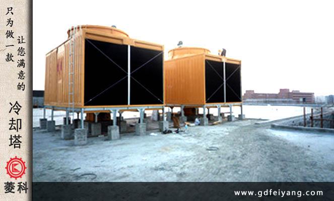 某商场中央空调冷却塔经过正确选型并安装