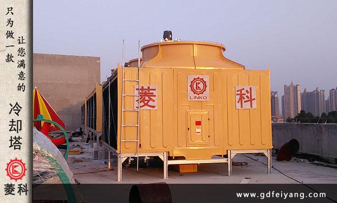 广zhou花du圣地•狮岭2000吨heng流式冷却塔案例