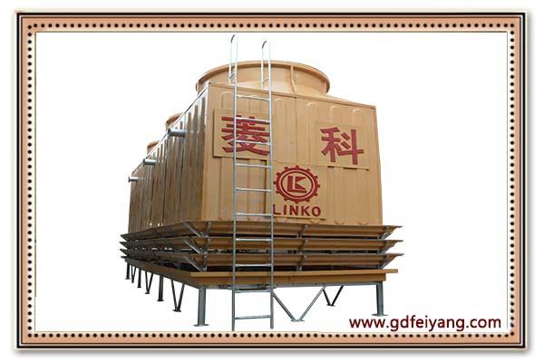 高wen工业xing逆流式冷却塔